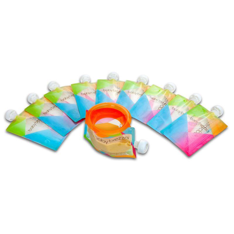Baby Brezza 10-pk. Food Pouches Refill Set, Multicolor thumbnail