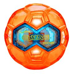 Tangle Orange Night Soccer Ball by