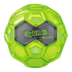 Large Green LED Night Soccer Ball by