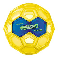Large Yellow LED Night Soccer Ball by