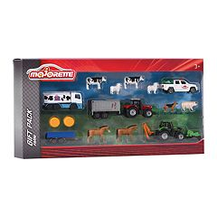 Dickie Toys Majorette Farm Die-Cast 16-Piece Playset by