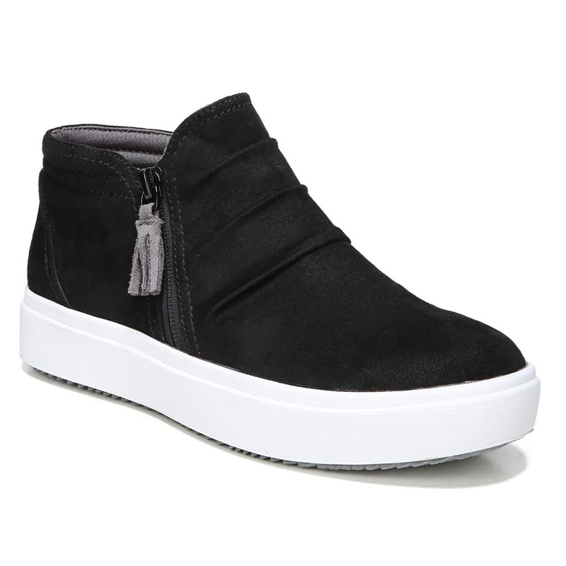 Dr. Scholl's Wander Women's Sneaker Boots, Size: medium (7.5), Black thumbnail
