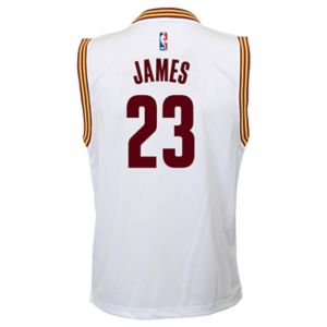 Boys 8-20 Cleveland Cavaliers LeBron James Replica Jersey