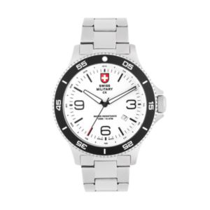 Swiss Military by Charmex(CX) Men's Infantry Stainless Steel Watch - 78344-5-G