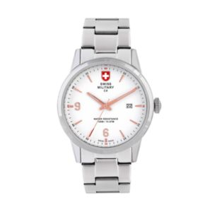 Swiss Military by Charmex(CX) Men's Officer Stainless Steel Watch - 78346-4-G