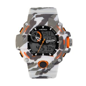 Head Men's Freeride Camouflage Analog-Digital Chronograph Watch - HE-105-02