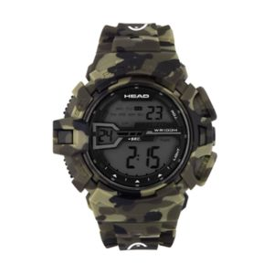 Head Men's Half Pipe Camouflage Digital Chronograph Watch - HE-106-02