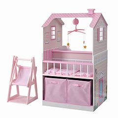 Teamson Kids All in One Baby Doll Nursery Station by