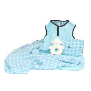 3 Stories Trading Co. 3-pc. Warm Snuggles Blue Baby Essentials Gift Set!