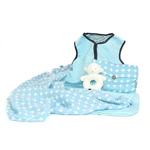 3 Stories Trading Co. 3-pc. Warm Snuggles Blue Baby Essentials Gift Set