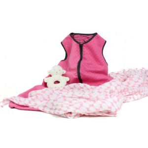 3 Stories Trading Co. 3-pc. Warm Snuggles Pink Baby Essentials Gift Set