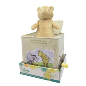 Disney's Winnie The Pooh Jack in the Box Classic Pooh Toy