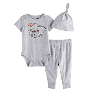 Disney's Dumbo Bodysuit, Pants, & Hat Set by Jumping Beans®