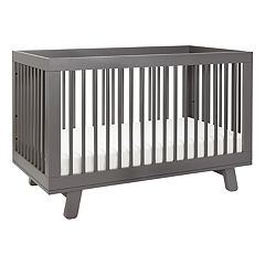 Babyletto Hudson 3-in-1 Convertible Crib with Toddler Bed Conversion Kit by