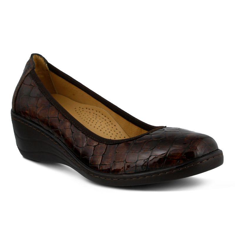 Spring Step Kartii Women's Wedges, Size: 38, Brown thumbnail