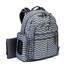BB Gear by Baby Boom Places & Spaces Zigzag Stripe Backpack Diaper Bag by