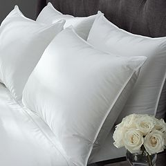 Downlite Extra Firm Cambric Cotton White Goose Down Pillow by