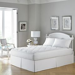 Laura Ashley Hypoallergenic 300 Thread Count Mattress Pad by