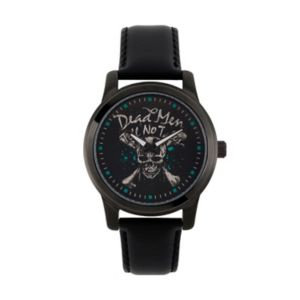 Disney's Pirates Of The Caribbean: Dead Men Tell No Tales Men's Leather Watch