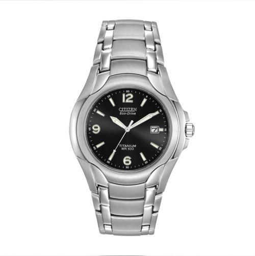 Citizen Eco-Drive Men's Titanium Watch - BM6060-57F
