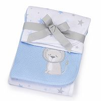 Just Born 2-pk. Animal Receiving Blankets