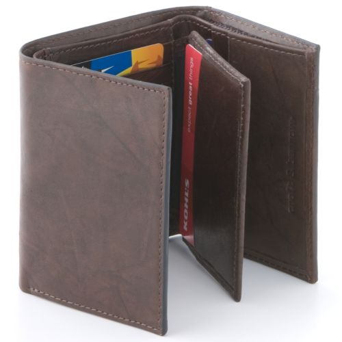 Croft & Barrow® Leather Trifold Wallet