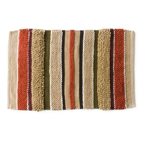Madison Striped Bath Rug