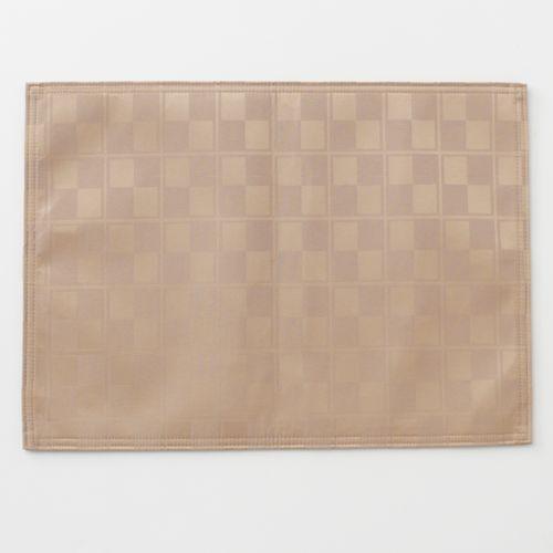 Food Network™ Stain-Resistant Microfiber Check Placemat