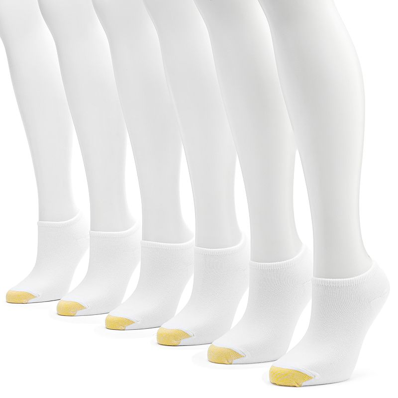 GOLDTOE 6-pk. Jersey Liner Socks