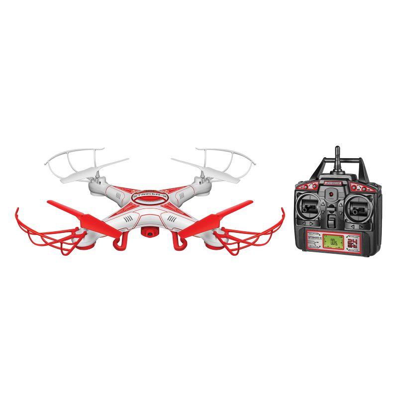 World Tech Toys Striker-X HD Camera Drone, White thumbnail