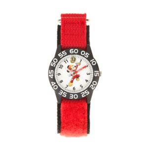 Disney's Mickey Mouse Roadster Racer Time Teacher Watch