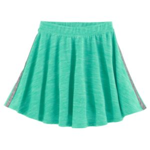 Girls Plus Size SO® French Terry Space-Dyed Circle Skirt!