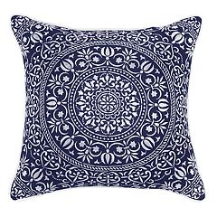Geo Medallion Throw Pillow by