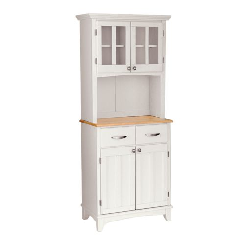 Small Hutch - Natural Wood Top