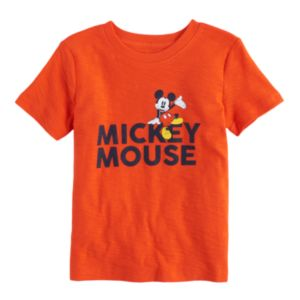 Disney's Mickey Mouse Baby Boy Slubbed Graphic Tee by Jumping Beans®