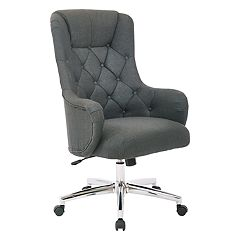 Ave Six Ariel Tufted Upholstered Desk Chair  by