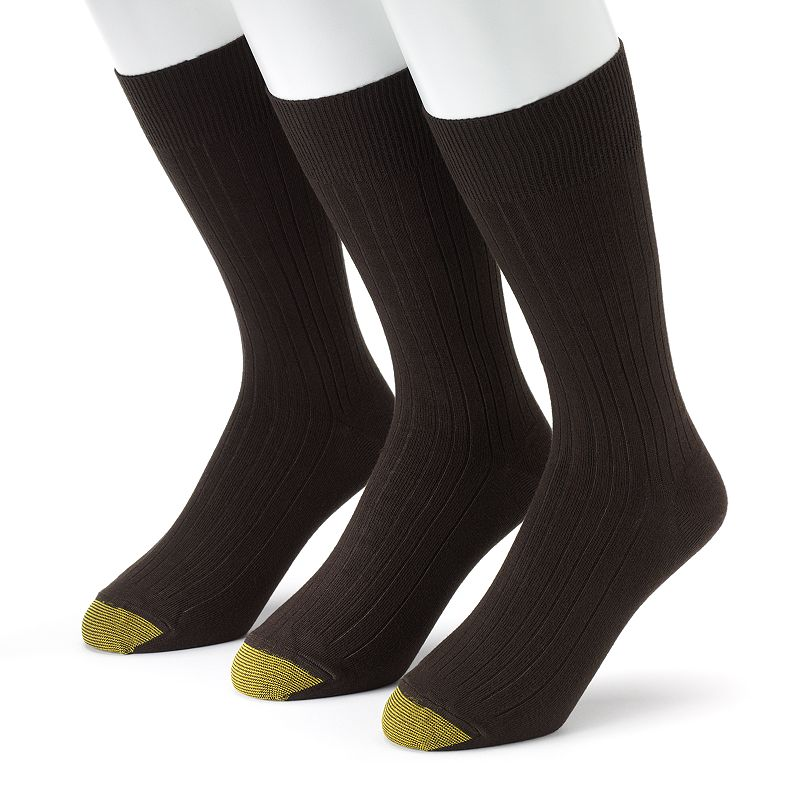 Men's GOLDTOE 3-pk. Milan Dress Socks