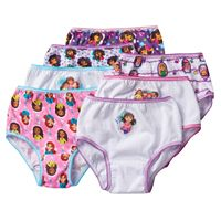 Toddler Girl Dora & Friends 7-pk. Briefs