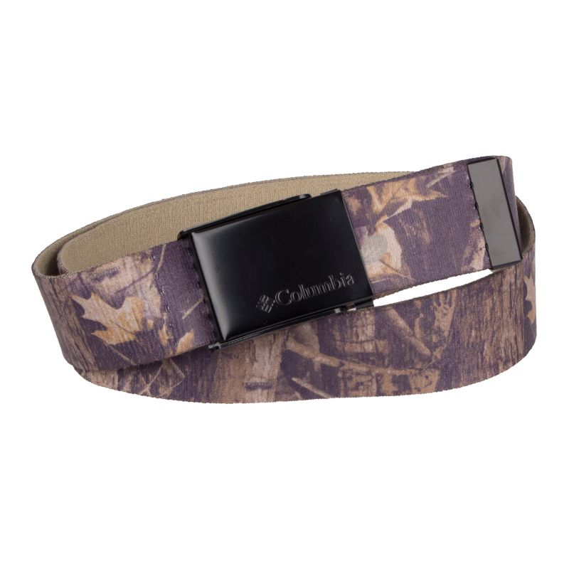 Men's Columbia Camo Reversible Stretch Performance Belt, Brt Green thumbnail