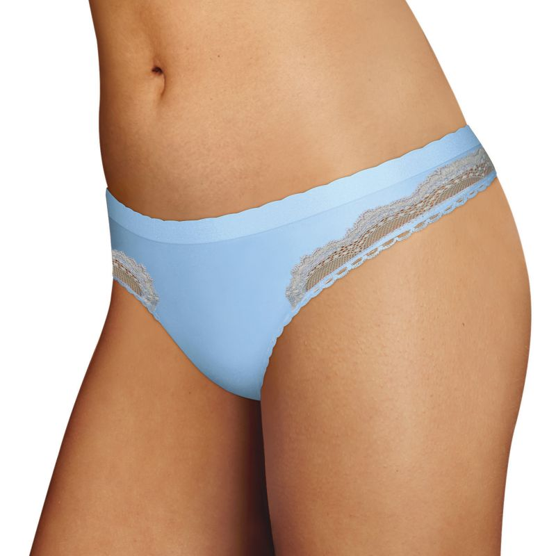 Maidenform Casual Comfort Seamless Thong Panty Dmccth, Women's, Size: 6, Dark Blue thumbnail