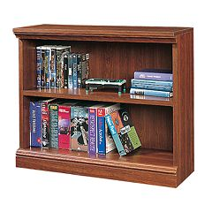 Sauder 2-Shelf Bookcase Cherry by