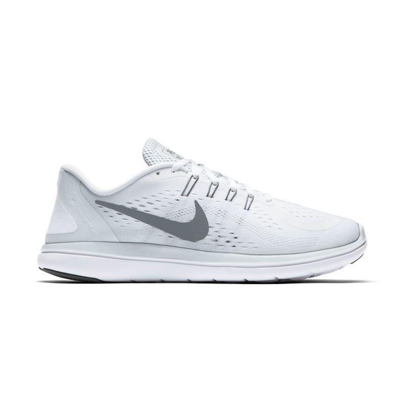 Nike Flex 2017 RN Men's Running Shoes, Size: 7, White thumbnail