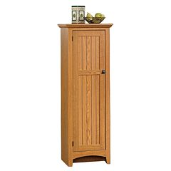 Sauder 1-Door Pantry Oak by