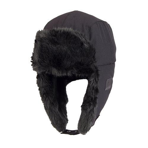 dc25c8098e6fe Men s Exact Fit Faux-Fur Trapper Hat with Bluetooth Technology