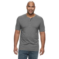 10be3644d2 Big & Tall SONOMA Goods for Life™ Supersoft Henley