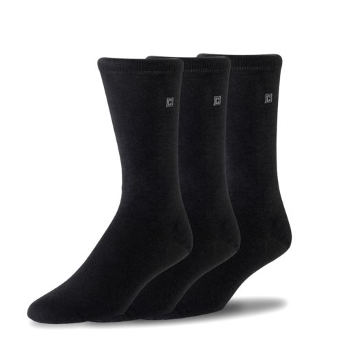 Chaps 3-pk. Flat-Knit Dress Socks
