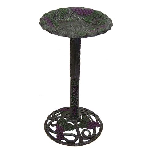 Oakland Living Vineyard Birdbath - Outdoor