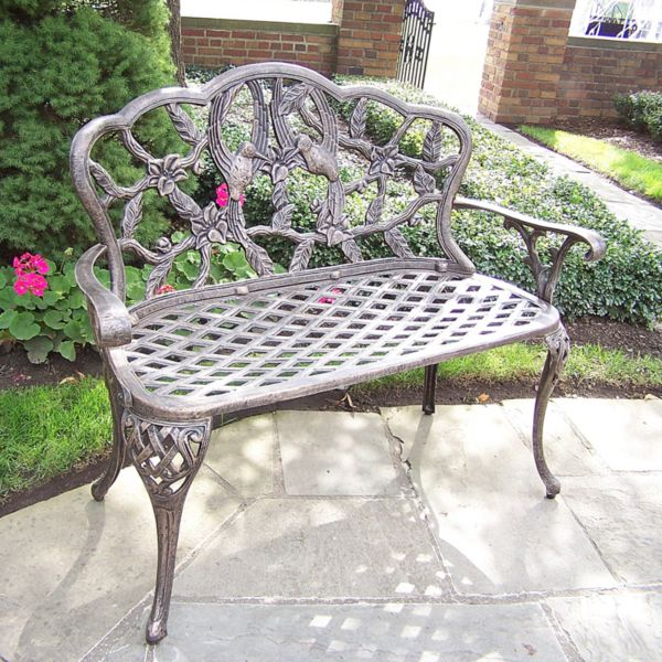 Oakland Living Hummingbird Patio Love Seat