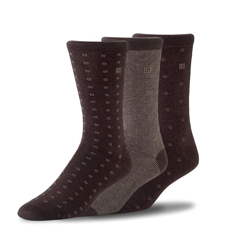 Men's Chaps Neat Dress Socks