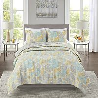 Deals on Madison Park Essentials Quilt and Sham Set
